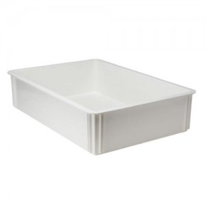 "Winco 6"" Depth Pizza Dough Box"