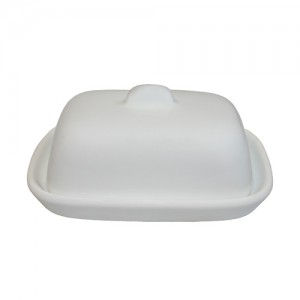"Royal Classic 4.25x3.25"" Royal Classic Butter Dish with Cover"