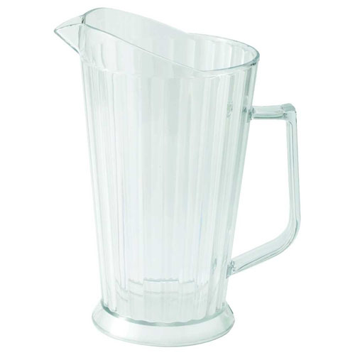 Winco 60 oz. Polycarbonate Pitcher