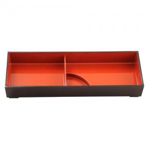 2-Compartment Rectangle Bento Box