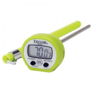 Classic Instant Read Thermometer - 4 Assorted Colours