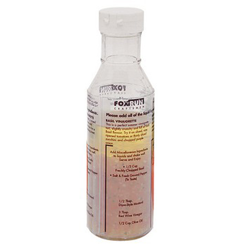 9 oz. Glass Dressing Mixing Bottle