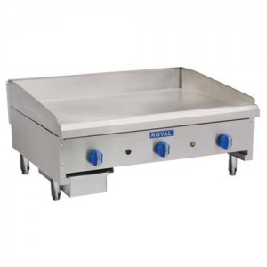 "18"" Gas Griddle"