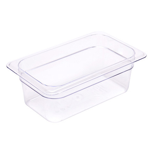 1/4 Size Clear Food Pan