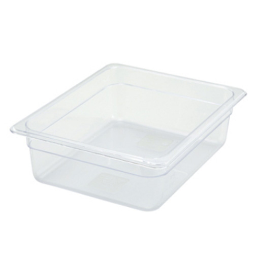 "1/2 Size x 4"" Polycarbonate Food Pan"