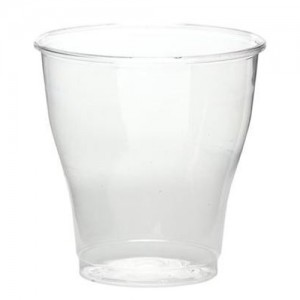 9 oz. Old Fashion Clear Plastic Cups - 500 CT