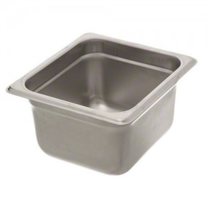 "1/6 Size x 4"" Light Weight Steam Pan Insert"