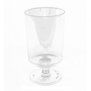 5.5 oz. Clear Disposable Tall Wine Cup - 500 CT