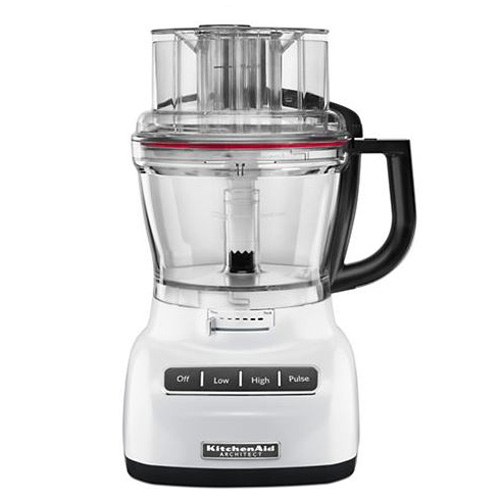 KitchenAid 13-Cup White Die Cast Food Processor
