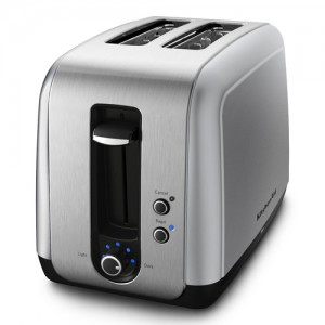KitchenAid Countour Silver 2-Slice Toaster