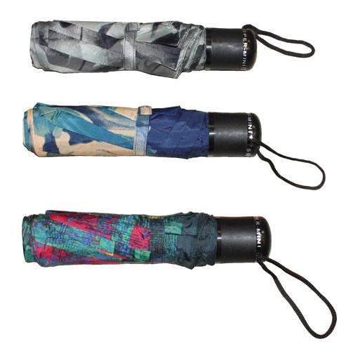 """7.5"""" Black Handle Umbrella: 3 Assorted Colours"""