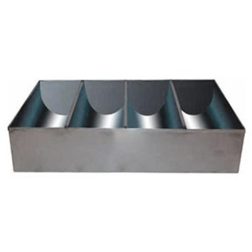 4-Compartment S/S Cutlery Tray