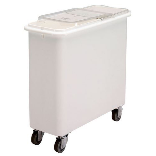 Cambro 27GL Flat Top Ingredient Bin with Sliding Lid and Casters