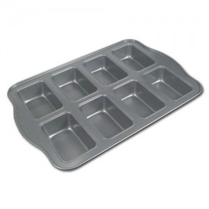 8-Cavity Mini Loaf Pan