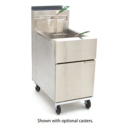 Dean 43LB Gas Deep Fryer - 105,000 BTU