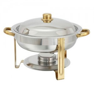 4QT. Round Chafing Dish