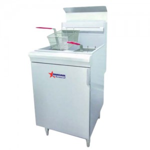 65LB Natural Gass Deep Fryer