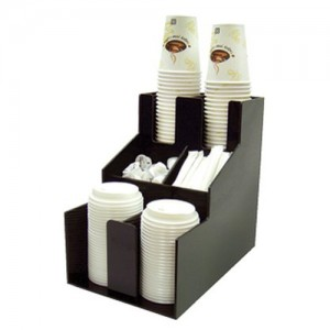 6-Compartment Beverage Station Organizer