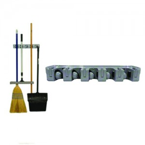 Mop and Broom Organizer / Rack