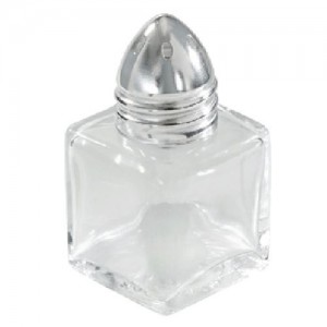 1 Dozen 0.5 oz. Mni Cube Salt and Pepper Shakers