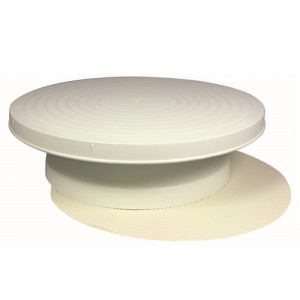 12IN. Cake Decorating Turntable with Non-Slip Mat
