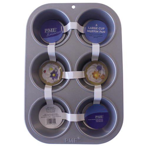 6-Cavity Large Muffin Pan