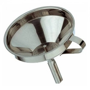 S/S Funnel with Removable Strainer