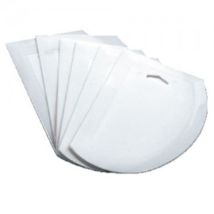 6-Pack 7.5x4.75IN. Plastic Dough Scraper
