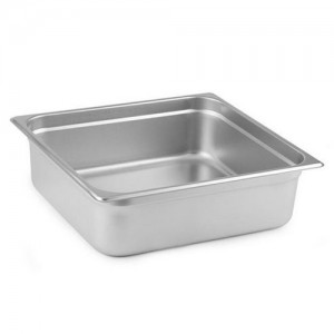 2/3 Size Steam Pan Insert - 24 Gauge