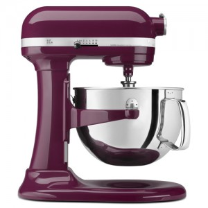 6 QT. Boysenberry Professional 600 Series Bowl-Lift Stand Mixer