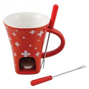 4-Piece Swissy Chocolate Fondue Mug