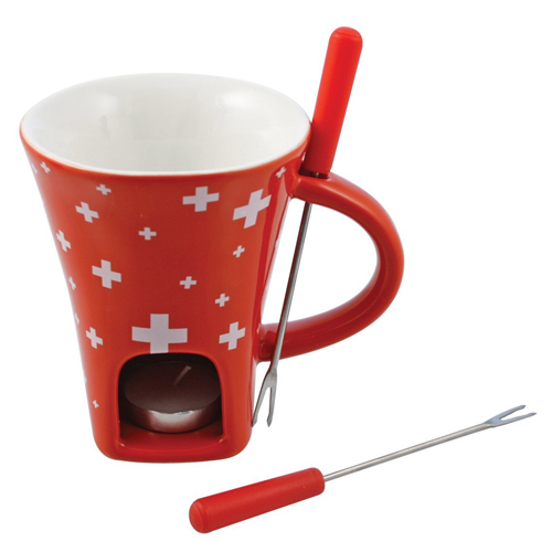 4-Piece Swissy Chocolate Fondue Mug
