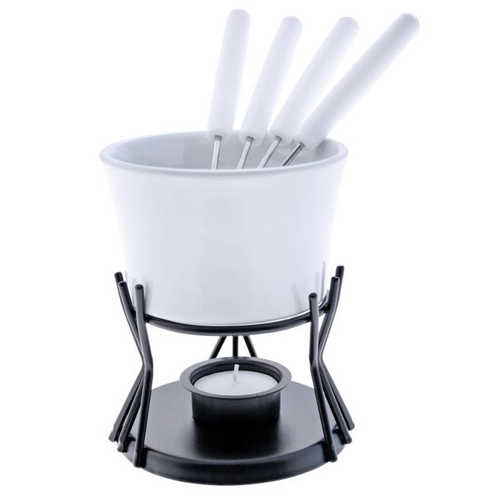 7-Piece 8.5 oz. Kindle Chocolate Fondue Set