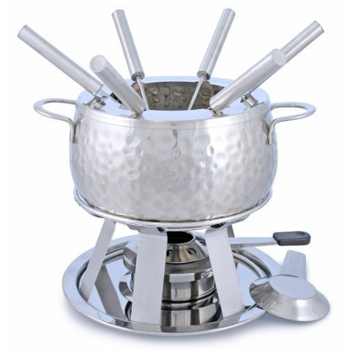 11-Piece Bienne S/S Meat Fondue Set
