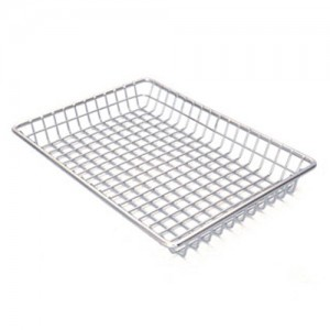 9x7IN. S/S Grid Tray