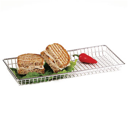 14x7IN. S/S Grid Tray