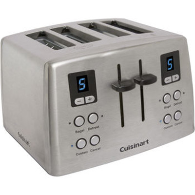Cuisinart Custom Classic 4 Slice Toaster With LCD Display