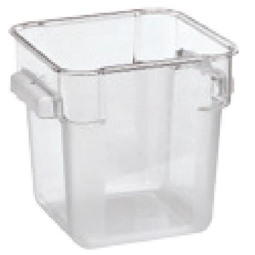 Omcan Square Polycarbonate Food Containers Tap Phong