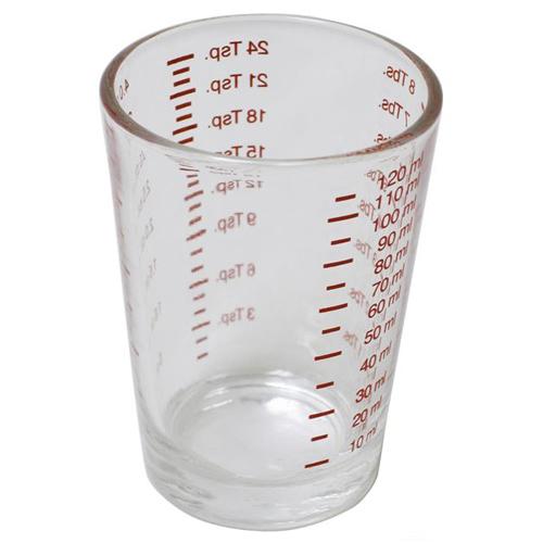 4 oz shot glass with volume marker - Shot Glass Volume